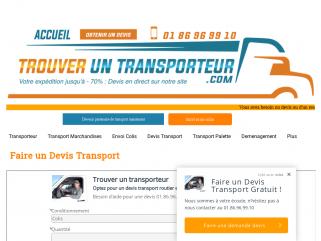 Transporteur pas cher : Profitez des offres de transports moins chers pour l'envoi de colis et palettes avec nos transporteurs partenaires.  - Jusqu'à -70% de remise immédiate
