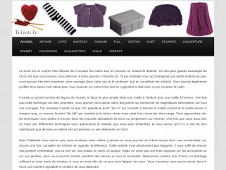 Tricot.fr   Tout sur le tricot pour tricoter facilement