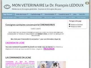 Cabinet vétérinaire du docteur François LEDOUX