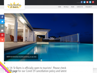 Villa Henson St Barts -Luxury Caribbean vacation rent in St Barthelemy. A holiday to remember