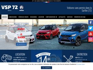 Voitures sans permis neuve et d'occasion au Mans, Sarthe (72) et