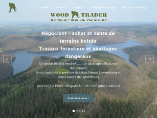 Wood Trader Exchange - Négociant - achat et vente de terrains boisés - Elagage et abattages dangereux