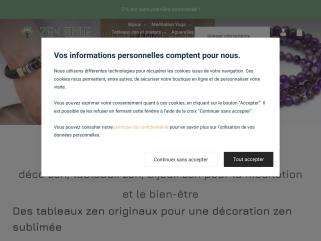 Boutique Zen Style - déco zen, tableaux zen, bien-être, méditation, yoga, bijoux zen, montres bois zen et fantaisie