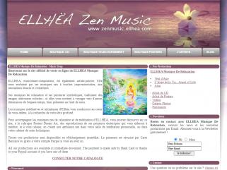Zen Music ELLHËA - Music-Shop - vente en ligne musiques de relaxation en téléchargement, CD physiques et posters dream-art